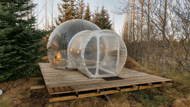 Not Camping, Not Glamping – Bubbling; Iceland's New Take On Stargazing.