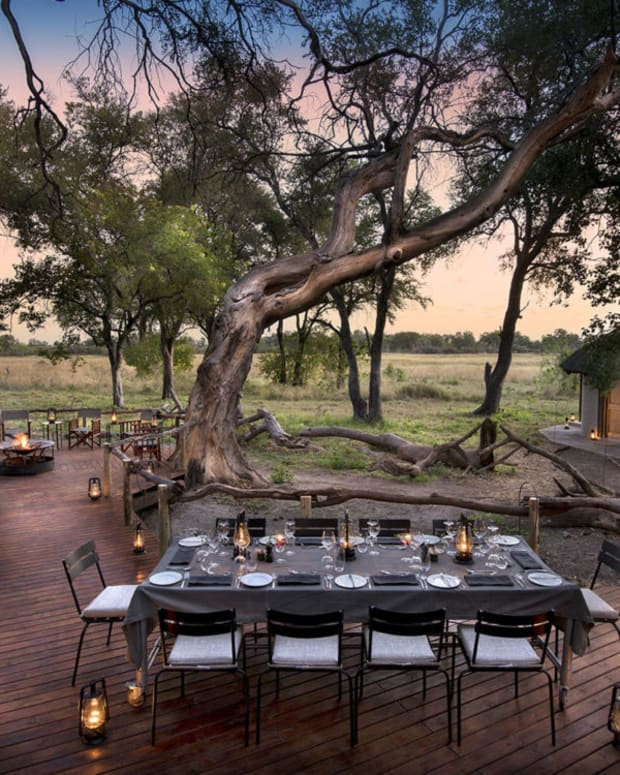 Welcome to the magical tented camp of Khwai in Botswana.