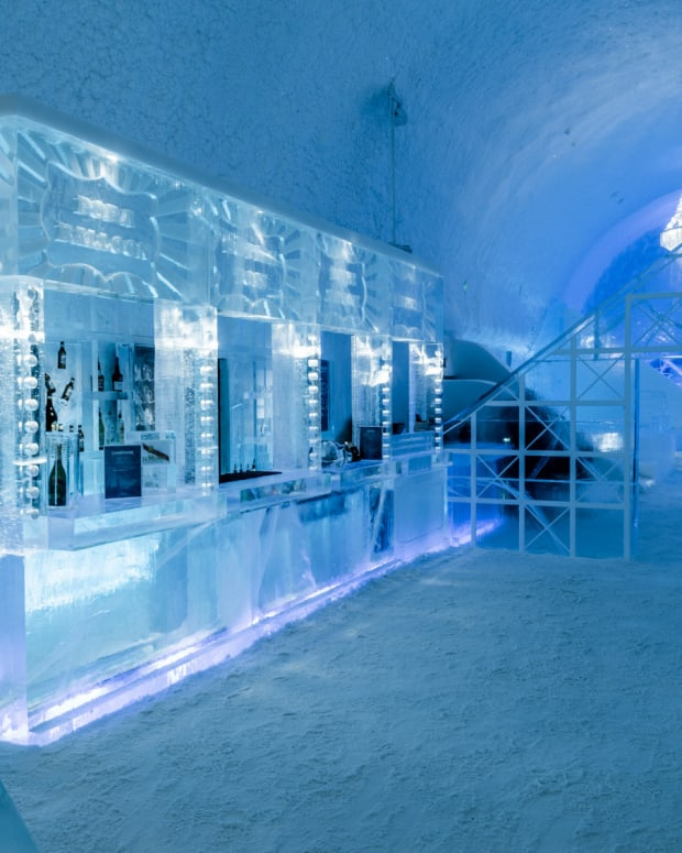 The world's most exotic hotel. Welcome to a taste of icy luxury.